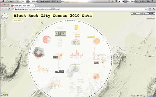 Burning Man Census Website