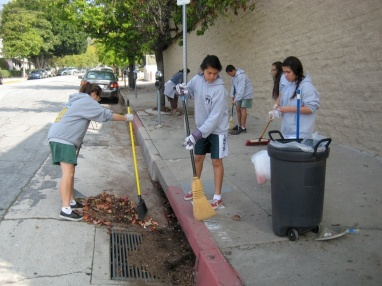 Trever Jones, cleaning the streets